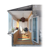 Узнать цены на остекление балконов и лоджий