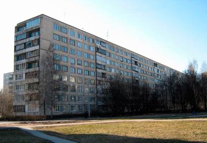 Двустворчатое окно для 602 серии домов в СПб