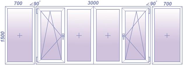 Цены остекления балконов и лоджий в спб: холодное и теплое.