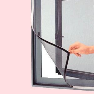Комплектуем окна москитными сетками